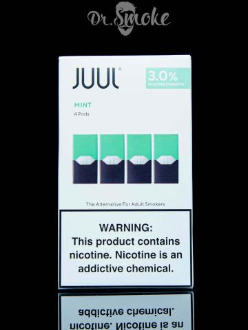 Купить - JUUL PODS (картридж) - MINT 3% (UA оригинал)