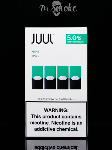JUUL PODS (картридж) - MINT 5% (UA оригинал)