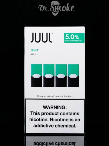 Купить - JUUL PODS (картридж) - MINT 5% (UA оригинал)