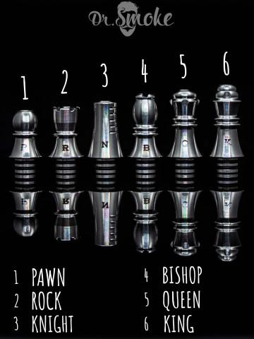 Chess  510 drip tip