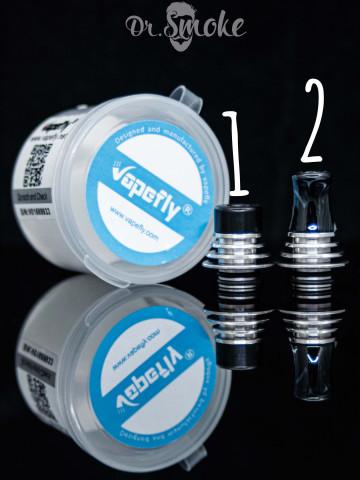Купить - Vapefly Brunhilde MTL RTA 510 Drip Tip