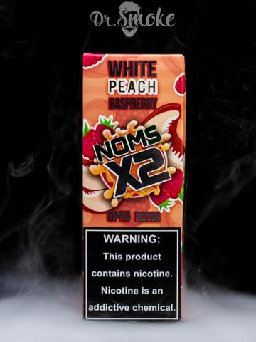 Купить - Жидкость Noms X2 White Peach Raspberry