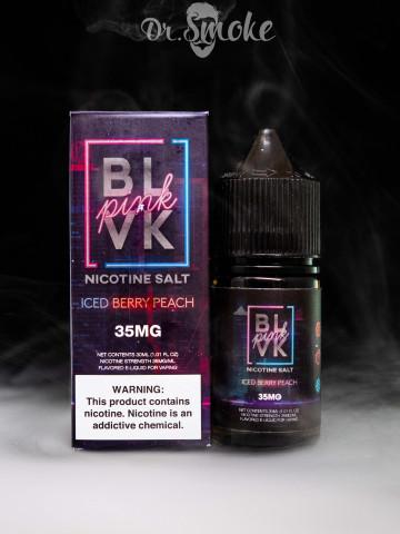 BLVK Salt Iced Berry Peach