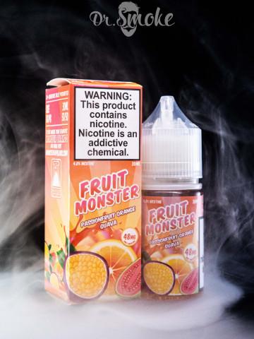 Fruit Monster Salt Passionfruit Orange Guava