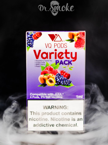 Купить - VQ PODS Compatible with JUUL - Variety Pack