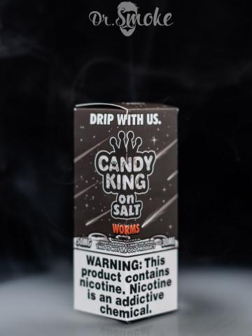 Жидкость Candy King salt Worms