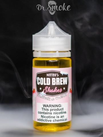 Nitro's Cold Brew  Strawberi & Cream Shake