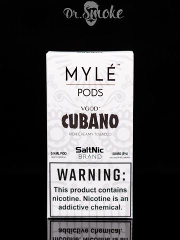 Купить - Myle Vapor Cubano MYLE Pods (картридж)