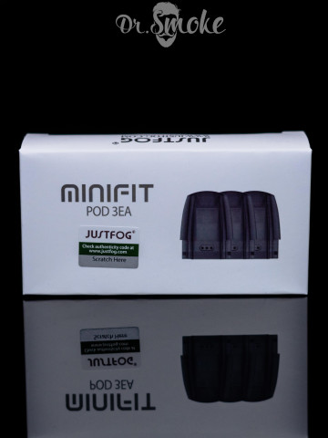 JustFog Minifit Cartridge 1.6 ohm