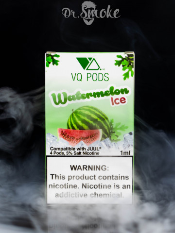 Купить - VQ PODS Compatible with JUUL - Watermelon Ice