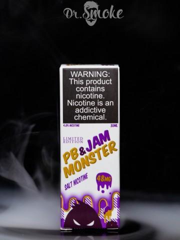 Жидкость Jam Monster Salt Peanut Butter salt