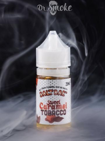 Жидкость Salt Bae Sweet Caramel Tobacco