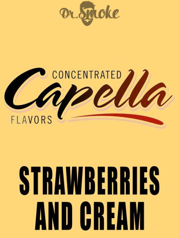 Ароматизатор Capella Flavors Strawberries and Cream