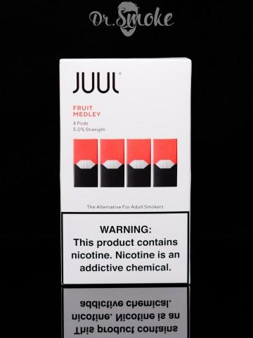 Купить - JUUL PODS (картридж) - Fruit Medley 5% (UA оригинал)