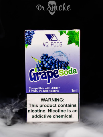 VQ PODS Compatible with JUUL - Grape Soda