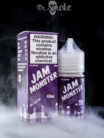 Jam Monster Salt Grape