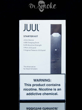 JUUL  Starter Kit (2 pods) USA 5% Оригинал