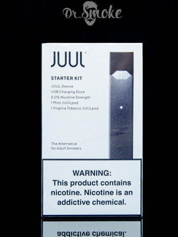 JUUL  Starter Kit (2 pods) USA 5% Оригинал
