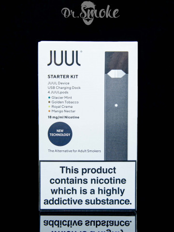 JUUL Starter Kit (4 pods) UK 1.8% Оригинал