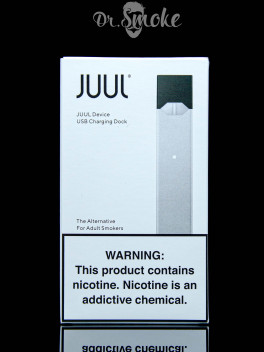 JUUL Silver Battery and charger kit (Без подов) Оригинал