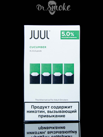 JUUL PODS (картридж) - CUCUMBER 5%