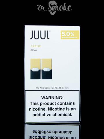 Купить - JUUL PODS (картридж) (2шт) - Creme 5% (UA оригинал)