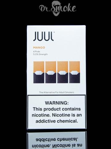 JUUL PODS (картридж) - MANGO 5% (UA оригинал)