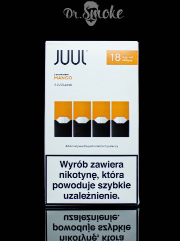 JUUL PODS (картридж) - MANGO NECTAR 2%