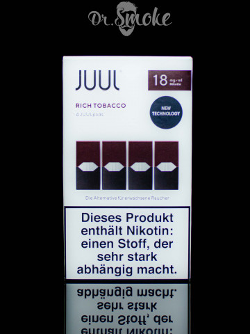 JUUL PODS (картридж) - Rich Tobacco 2%