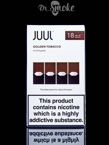 JUUL PODS (картридж) - Golden Tobacco 2%