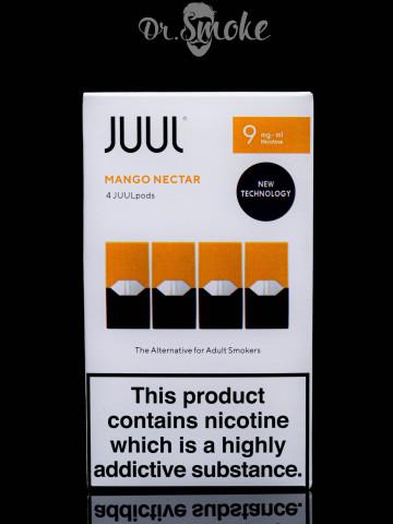 Купить - JUUL PODS (картридж) - Mango 0.9%