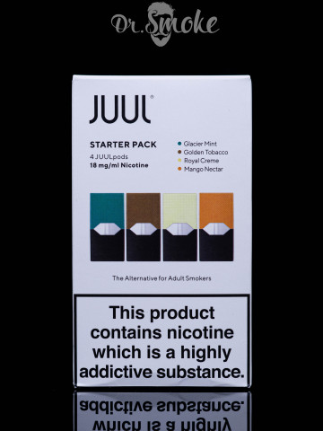 Купить - JUUL PODS (картридж) - Starter Pack 2%