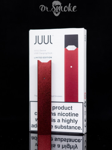 Купить - JUUL Ruby Red Battery and charger kit (Без подов) Оригинал
