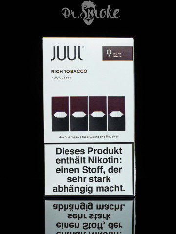 JUUL PODS (картридж) - Rich Tobacco 0,9%