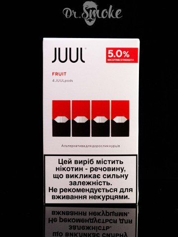 JUUL PODS (картридж) - Fruit Medley 5% (UA оригинал)