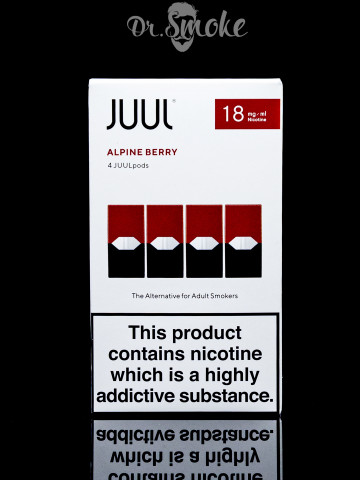 Купить - JUUL PODS (картридж) - ALPINE BERRY 2%