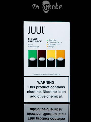Купить - JUUL PODS (картридж) - Flavor Multipack 5%