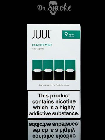 JUUL PODS (картридж) - GLACIER MINT 0.9%