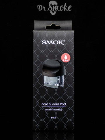 SMOK Nord 2 Replacement Pod - without coil (пустой картридж)