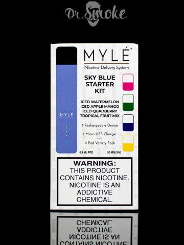Myle Vapor Sky Blue Myle Starter Kit Magnetic Edition