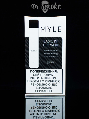 Myle Vapor Elite White Magnetic Edition Myle (Device only)