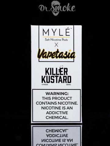 Купить - Myle Vapor Vapetasia Killer Kustard MYLE Pods (картридж)