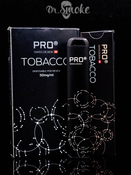 SWISS DESIGN PRO Cig Disposable pod (одноразовая под система) - Tobacco