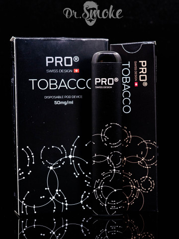 Купить - SWISS DESIGN PRO Cig Disposable pod (одноразовая под система) - Tobacco