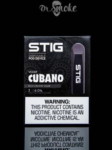 Купить - VGOD Stig Cubano Disposable Pod Device (одноразовая под система)