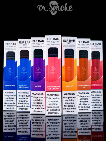 Elf Bar Disposable Device 5% 800puffs