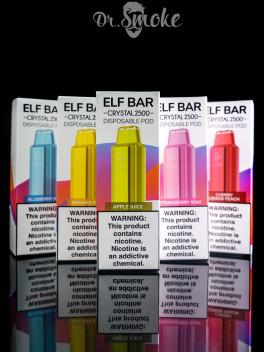 Elf Bar Crystal Disposable Pod Device 5% 2500 puffs
