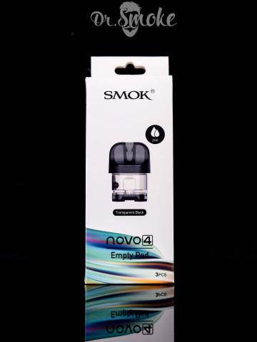 SMOK Novo 4 Replacement Pod Withoit Coil (пустой картридж)