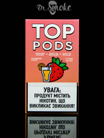 Купить - TOP Pods Compatible with JUUL - Strawberry Punch