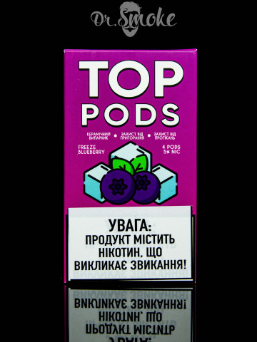 TOP Pods Compatible with JUUL - Freeze Blueberry